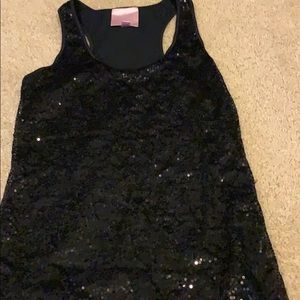 Romeo and Juliet couture sequin top size small
